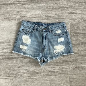 Distressed Jean Shorts from Urban Outfitters